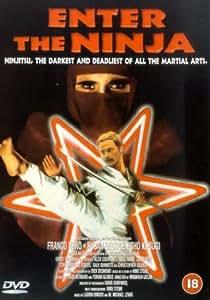 Enter the Ninja Dvd Region 2 Pal Import Franco Nero