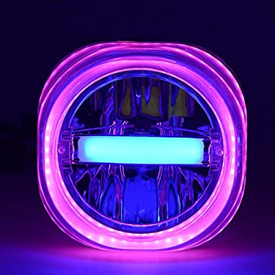 Andux Zone Proyector LED Proyector de medusa Halo para motocicleta ...