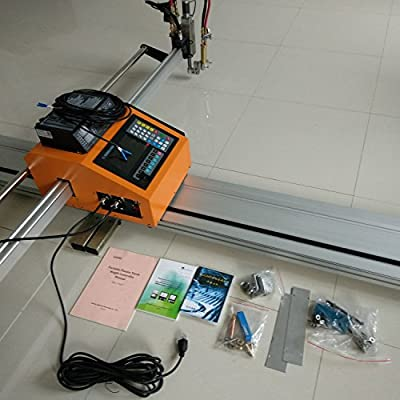 portable cnc cutting machine with thc and supporting