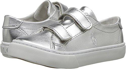 Ralph Lauren Baby Girl's Slater EZ (Toddler) Silver Metal...