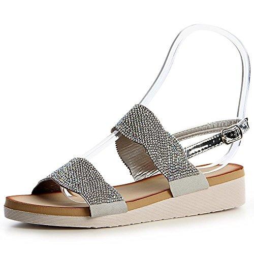 Femmes Sandalettes topschuhe24 Femmes topschuhe24 Argent Argent Femmes Sandales topschuhe24 Sandales Femmes Sandalettes Sandales Sandales Sandalettes Sandalettes topschuhe24 Argent wgSxfqCS