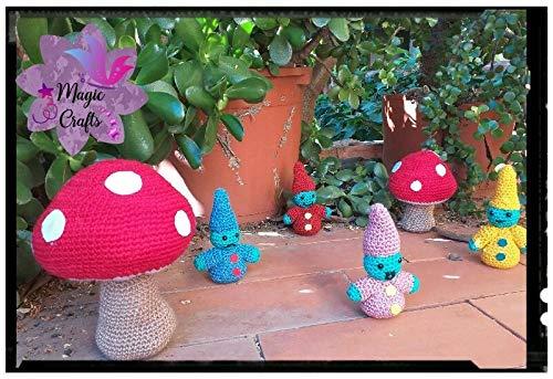 Peluches Poblado duendes de las emociones de ganchillo-crochet. Hecho a mano. Técnica amigurumi. Artesanal. Personalizable en tamaño y ampliación de ...