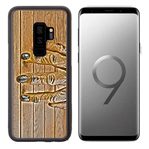 Liili Premium Samsung Galaxy S9 plus Aluminum Backplate Bumper Snap Case IMAGE ID: 22991157 Werewolf hand for Halloween HDR (Halloween Effects Reviews)