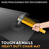 Office Chair Mat for Carpeted Floors - Heavy