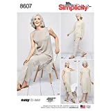 Simplicity US8607A Easy to Sew Women's