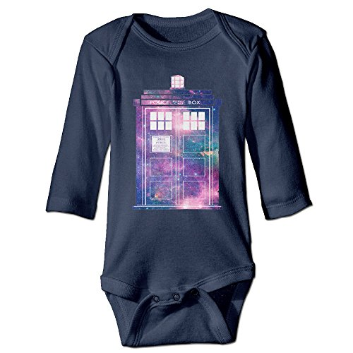 Call Costume Police Box (ALEXBY Babys Doctor Call Police Box WHO Long Sleeve Jumpsuit)