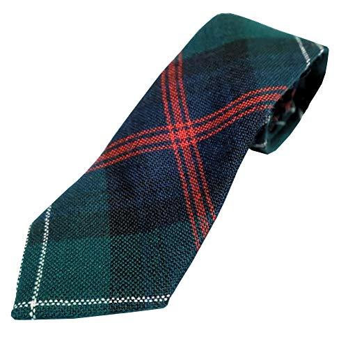 Ingles Buchan Boys Scottish Wool Tartan Tie Sutherland Old
