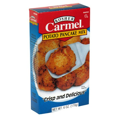 Kosher Potatoes - Carmel Kosher Potato Pancake, 6-Ounce Boxes (Pack of 6)