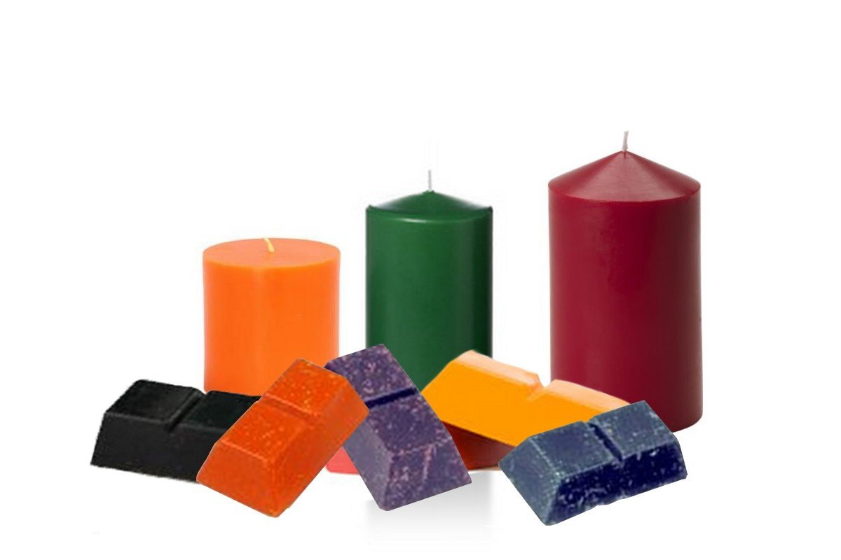 Candle Making Dye Block Color - 6 Candle Color Pack