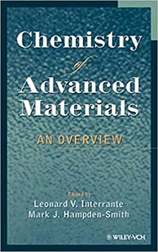 Book Chemistry of Advanced Materials: An Overview