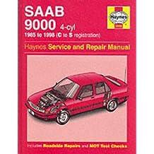 Saab 9000 (4-cylinder) Service and Repair Manual
