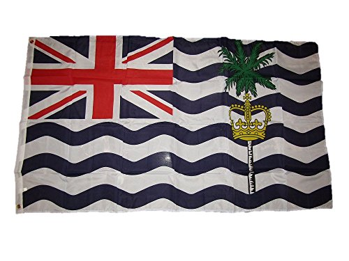 3x5 British Indian Ocean Territory Flag 3'x5' Brass Grommets