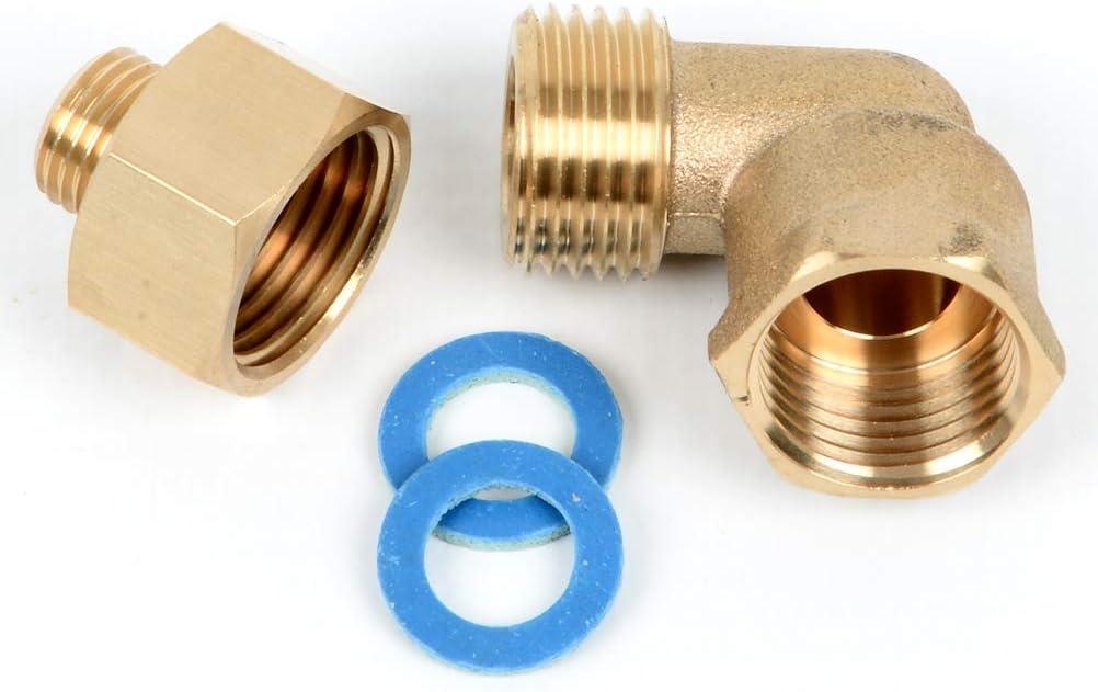 K&H - Juego de adaptadores de medición de gas (rosca interior ...
