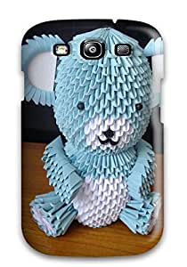 New D Origami Tpu Case Cover, Anti-scratch Jeffrey Wasser Phone Case For Galaxy S3