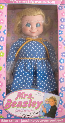 "MRS. BEASLEY 20"" TALKING Collectible DOLL From TV Show FAMILY AFFAIR (2000 Ashton Drake/Childhelp)"