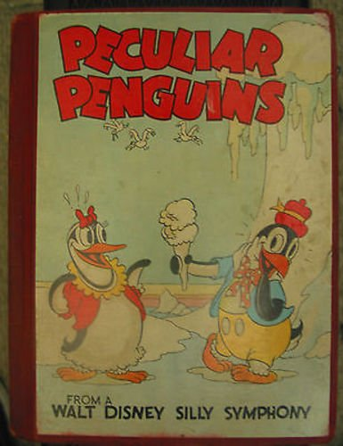 Peculiar Penguins from Walt Disney Silly Symphony - 1934 Hardcover Book