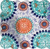 C&F Home Set of 4 Pcs, 13x19 Quilted Scallop