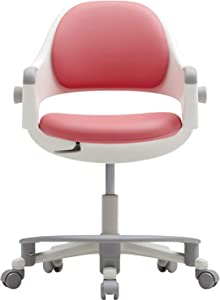 SIDIZ Ringo Kid Desk Chair : 4-Level Easy Adjustment for Perfect Support on Growing Child's Body, Sit-Brake Casters and Footrest for Better Sitting Posture