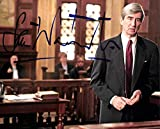 #4: Sam Waterston Law & Order Signed 8x10 Photo Autographed BAS #E85197 - Beckett Authentication