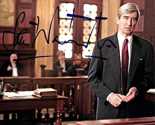 Sam Waterston Law & Order Signed 8x10 Photo Autographed BAS #E85197 - Beckett Authentication by...