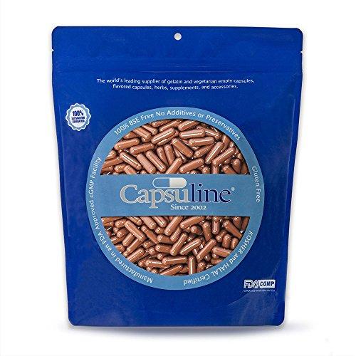 coffee flavored empty gelatin capsules