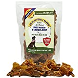 Green Butterfly Brands Sweet Potato Chicken Jerky Wraps – Dog Treats Made in USA – Two Ingredients: USA Sourced Sweet Potato & USDA Grade A Chicken Breast – No Additives or Preservatives – Dogs Love Review