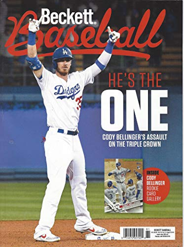 NEWEST GUIDE: Beckett Baseball Card Monthly Price Guide (June 18, 2019 release/C. Bellinger cover) ***Pricing starts at 1980***