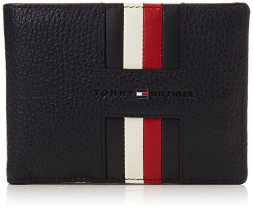 Extra and Navy Men's Heritage Cc Tommy Tommy Coin Hilfiger Wallet Blue XO1wqOxt