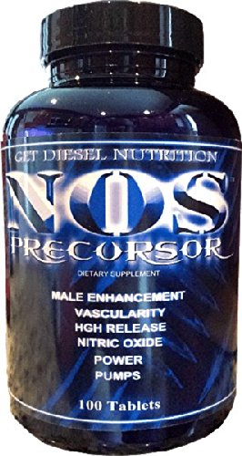 Potent Nitric Oxide and Libido Booster,NOS Precursor,100 tablets