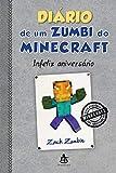 capa de Diário de um zumbi do Minecraft 9: Infeliz aniversário