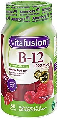 vitafusion Vitamin B12 1000 mcg Gummy Vitamins, 60ct