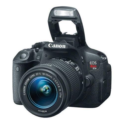 013803222432 - Canon EOS Rebel T5i EF-S 18-55 IS STM Kit carousel main 1