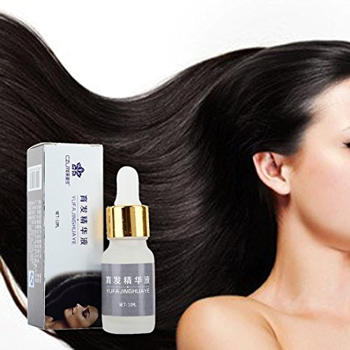 Hair Care Essence, Sacow Pure Natural Moisturizing Nourish Scalp Smooth Dry Repair Treatment Hair Growth Fluid ()