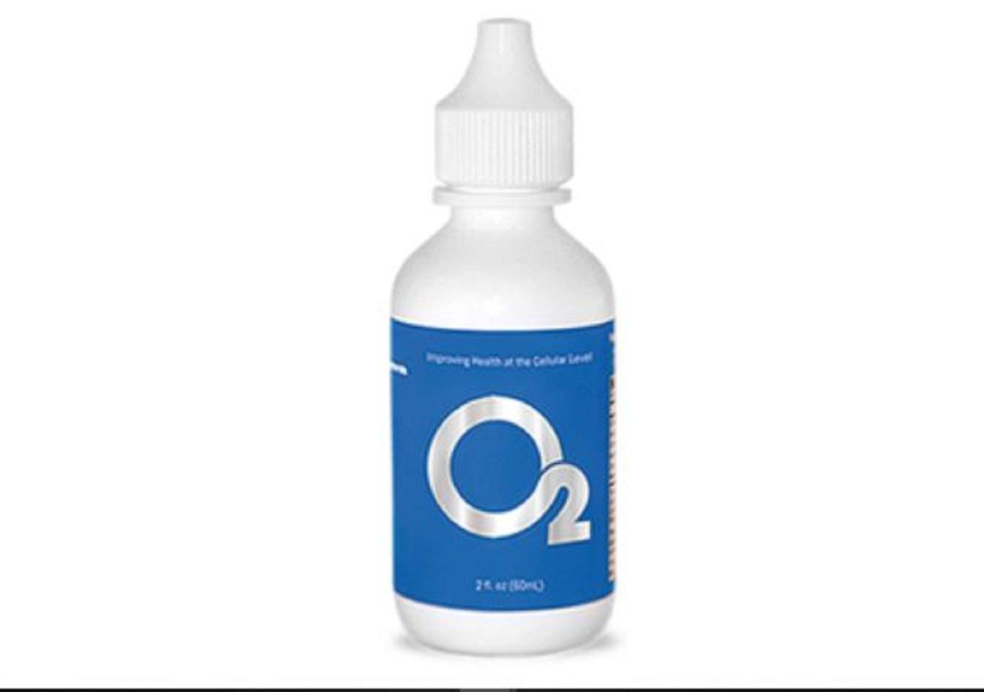 Liquid Oxygen O2 Drops - Premium Concentrated Liquid Oxygen Supplement - 2 fl. oz - Mineral - Health - Healthy Living