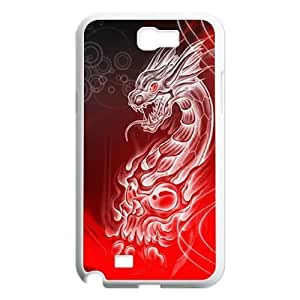 Dragon Customized Case for Samsung Galaxy Note 2 N7100, New Printed Dragon Case