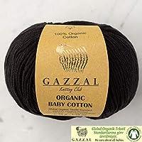 5 ovillos (paquete) Gazzal orgánico bebé algodón hilo