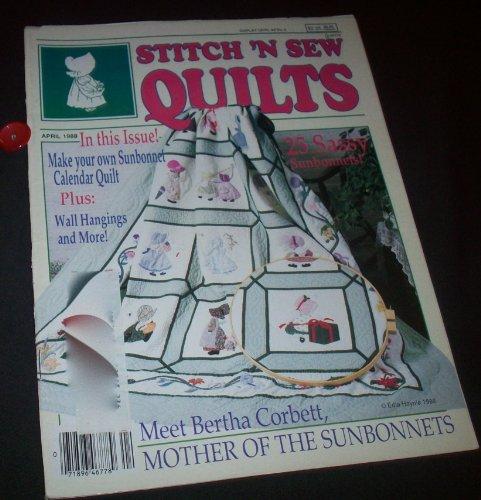 Stitch 'N Sew QUILTS April 1988 (Volume 8, Number 2)