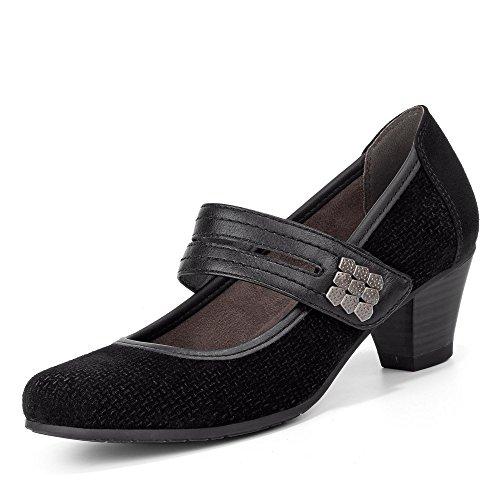 Sneakers 29 001 8 Jana BLACK001 mixte adulte Basses 8 24300 wqSCqcpPX