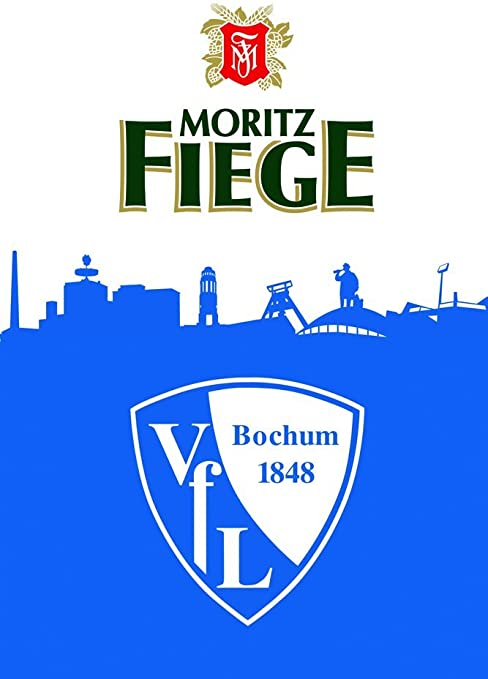 Vfl Bochum Vfl And Fiege 100 X 150 Cm With Stick Flag Flag For Hoisting Fritze Amazon Co Uk Sports Outdoors