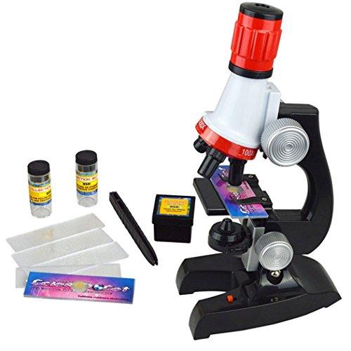 Soriace® 100x 400x 1200x Mikroskop Set, Pädagogisch Mikroskop Kosmos für Früherziehung fits für Kinder