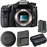 Sony Alpha a77 II DSLR Camera (Body Only) ILCA77M2 + NP-FM500H Lithium Ion Battery Bundle
