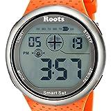 By-Roots Quartz Watch, Oversized Easy-to-Read Wrist Digital Display Quartz Watches, Orange