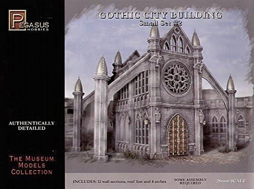 Double Window panel Pegasus Hobbies Gothic City Buildings