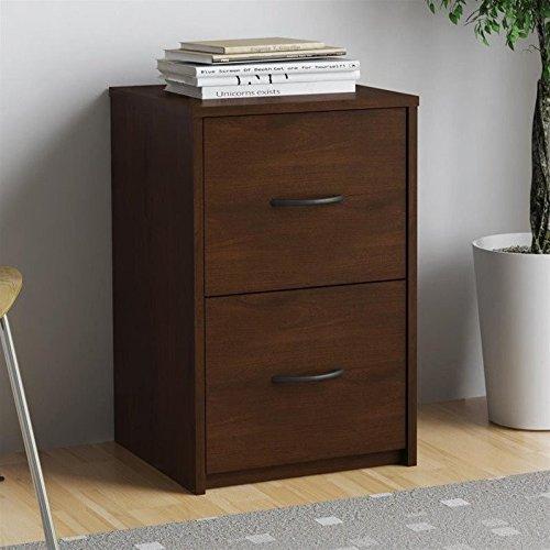 Espresso File Carts (Altra Core 2 Drawer File Cabinet, Resort Cherry)