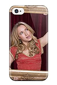TYH - Desmond Harry halupa's Shop 2998973K57043692 Scratch-free Phone Case For Iphone 4/4s- Retail Packaging - Hayden Panettiere phone case