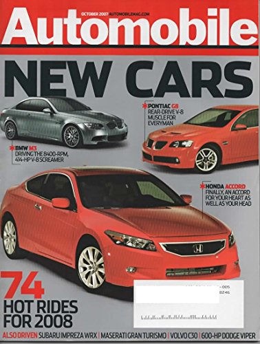 - Automobile, October 2007 Issue