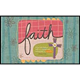 Lang Sufficient Faith Door Mats Holli Conger, 18 x 30 inches (3210015)