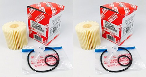 Set of 2 Genuine Toyota 04152-YZZA1 Oil Filters