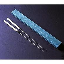 Yoshihiro Moribashi Chopsticks Japanese Sushi Chef's Traditional Garnishing Plating Tweezers Magnolia Handle 6.5 In(165mm) by Yoshihiro