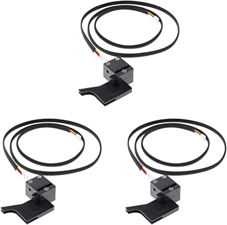 3D Printer Parts 1.75mm//3.0mm Filament Detection Module Detector Sensor Switch Run Out Pause Monitor for Creality CR-10,CR-10S,S4,S5
